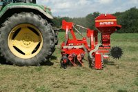 GreenMaster - siewnik do podsiewu: traw, lucerny i poplonów